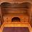Thumbnail: Unusual vintage pine 4 drawer unit with hidden bureau