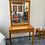 Thumbnail: Pine dressing table  with 2 drawers and mirror