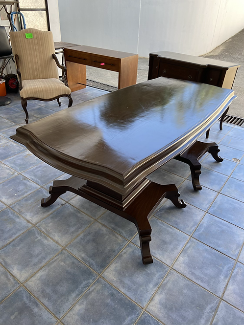Huge vintage dining table