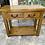 Thumbnail: Solid oak console
