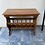 Thumbnail: Unusual Indian wood console table/hall table with racking