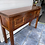 Thumbnail: Heavy Indian wood console table