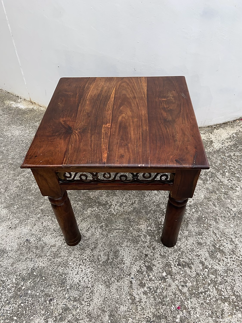 Indian wood occasional table