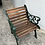 Thumbnail: Newly painted bench, 2 chairs and table