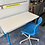 Thumbnail: IKEA desk 120x60 74h and chair