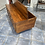 Thumbnail: Indian wood chest coffee table with 12 drawers