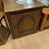 Thumbnail: English oak single door cupboard