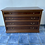 Thumbnail: Lovely large dark wood chest of 4 drawers