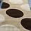 Thumbnail: Modern cream/beige/brown rug