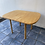 Thumbnail: Lovely heavy pine extendable dining table and 4 chairs