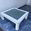 Thumbnail: White painted table with glass inlay - ideal up cycle project