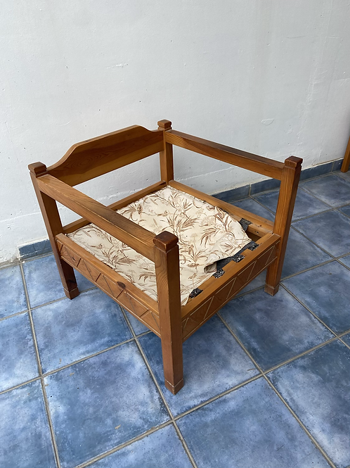 Pine single chair ideal up cycle project