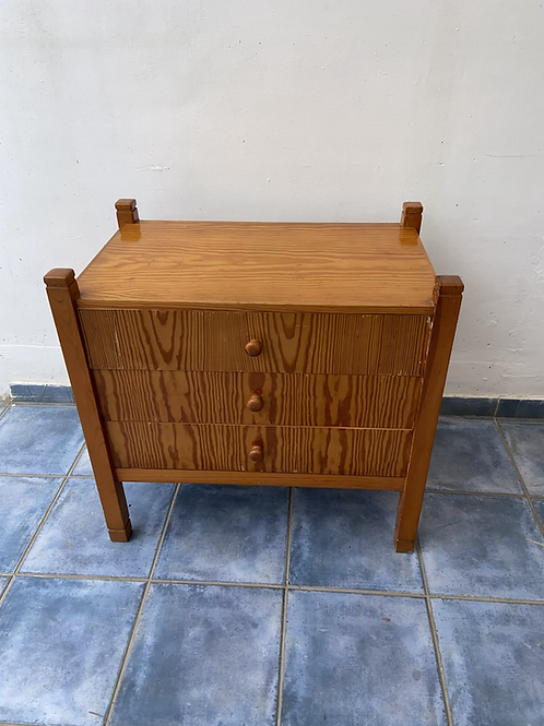 Pine chest of 3 drawers ideal for an up cycle project