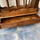 Thumbnail: Unusual Indian wood console table/hall table with 1 drawer and racking