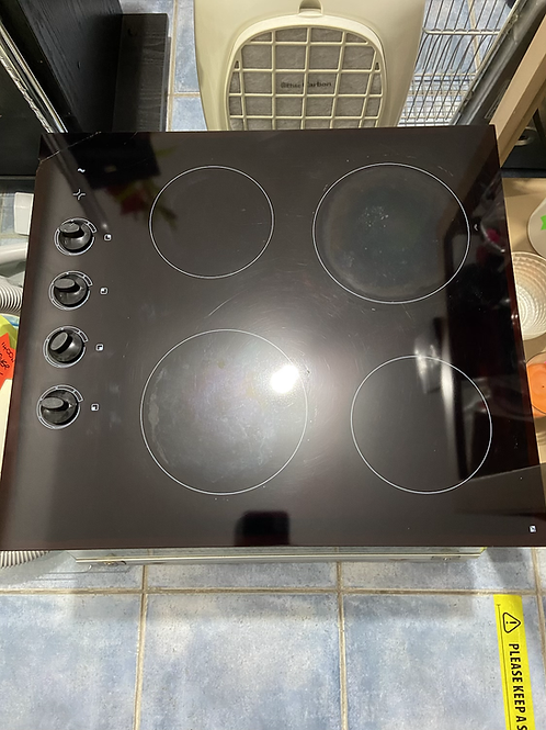 Electric 4 ring halogen hob