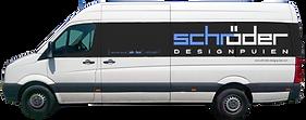 Schröder designpuien bus signing. webdesigner Andre van Leeuwen