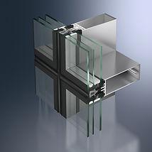 Schüco vlies gevels, minimalistische profielen van Schroder designpuien