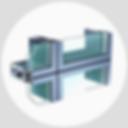 Sapa vlies gevels, minimalistische profielen van Schroder designpuien
