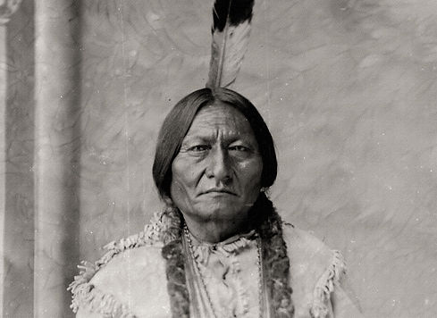 picture of the famous native american Sitting Bull