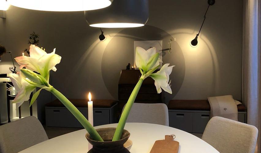 Eetkamerverlichting met een mooi lichtplan van De Lichtplanners.