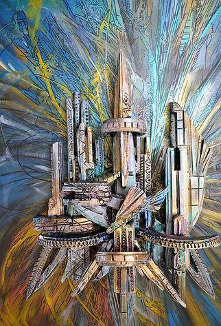 3d Painting/schilderij . Valery van Leeuwen