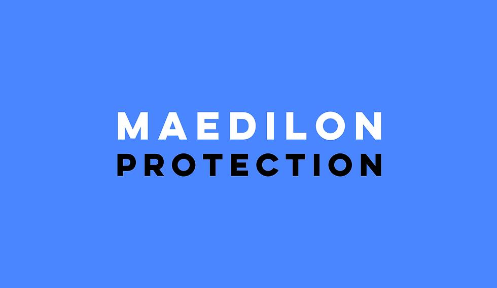 design typeface Maedilon protection