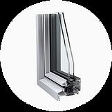 raam en deur systemen/steel-look. Schroder design puien