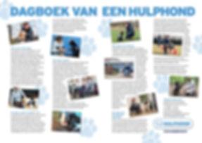 dagboek van een hulphond. copywriter: Frits Rijksbaron