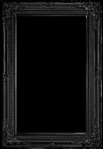 Valery van Leeuwen zwarte schilderij lijst