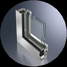 raam en deur systemen Schroder design puien
