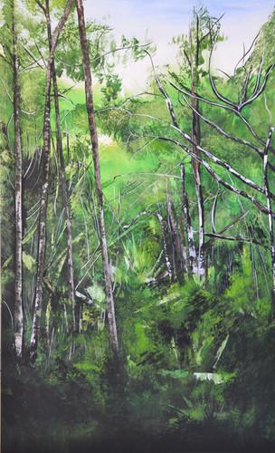 Bomen schilderij nr. 3 Valery van Leeuwen