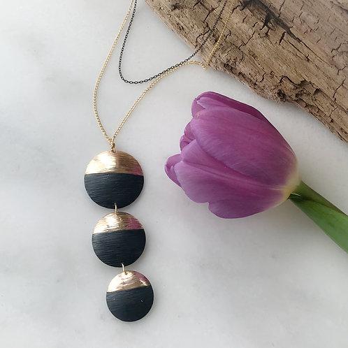 Partial Eclipse Necklace