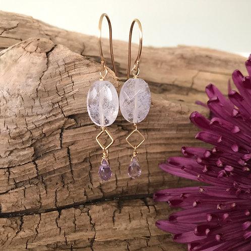 Amorous Amethyst Earrings
