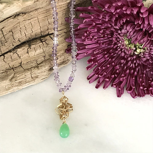Spring Bouquet Necklace