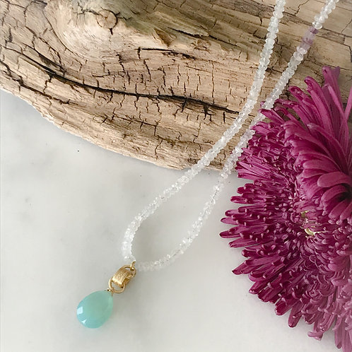 Cool Breezes in Summer Necklace
