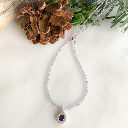 Purple Passion Neckklace