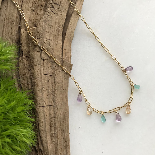 Springtime Dewdrops Necklace