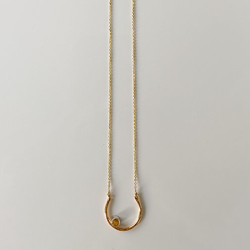 Citrine's Light Necklace