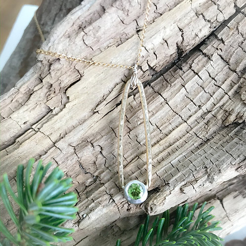 Perfectly Peridot Necklace