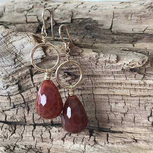 Firestone Drop Earrings