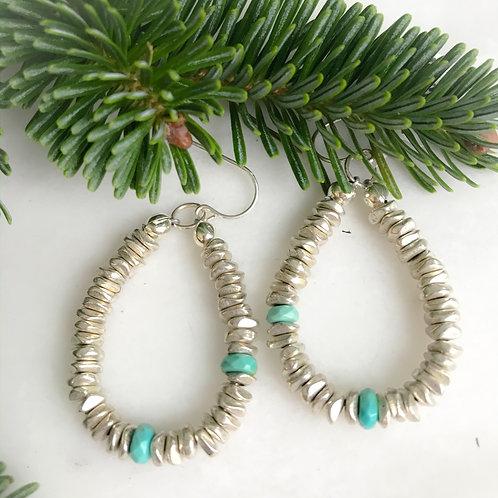 Turquoise Kisses Earrings