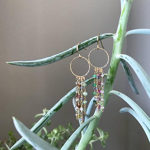 Waterfalls of Color Earrings