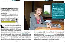 Extrait du magazine La vie, 30 mai 2013, Bien Vivre / Education - Dis, apprends-moi a lire, photographie de Laura Berg