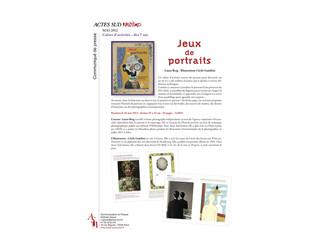 LE LIVRE D'ACTIVITÉS JEUX DE PORTRAITS SORT EN LIBRAIRIE