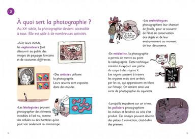 La photo à très petits pas, pages 12 et 13