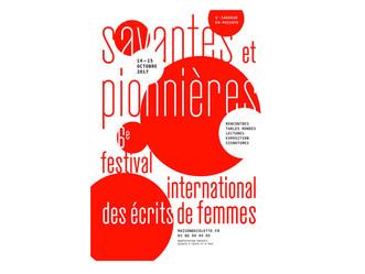 MARIE CURIE À L'HONNEUR DU VIe FESTIVAL INTERNATIONAL DES ÉCRITS DE FEMMES