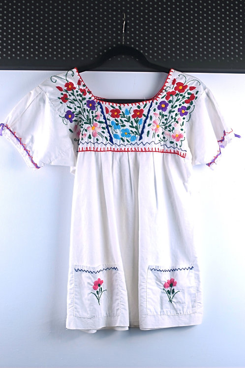OAXACAN HAND-EMBROIDERED TOP