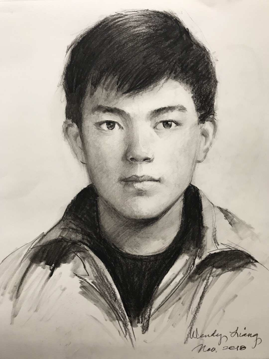 Pencil portrait (2)