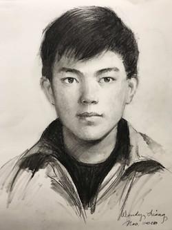 Pencil portrait (2)