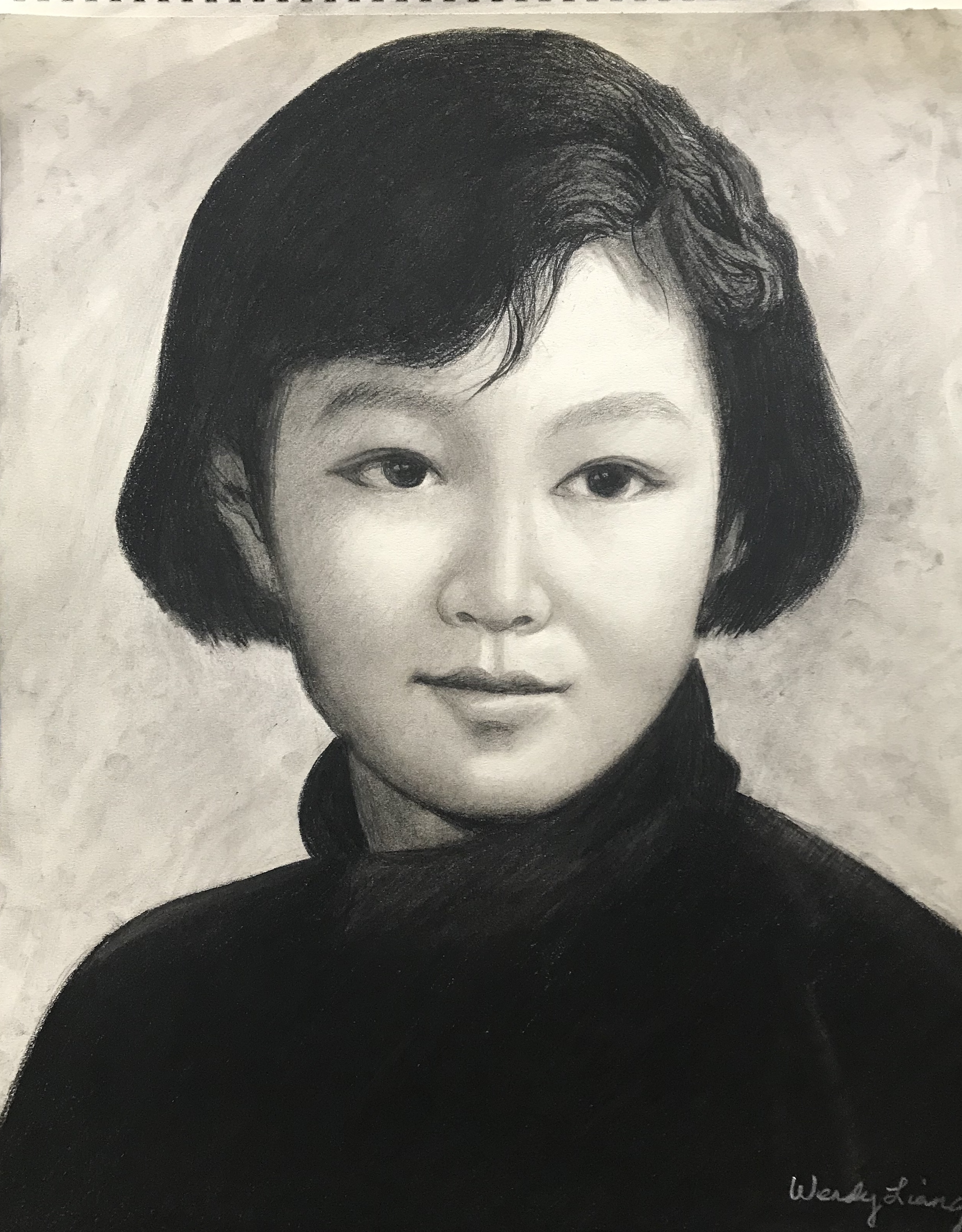 Pencil portrait (4)